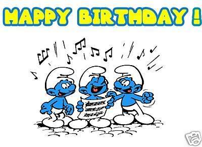 Happy Birthday ........... Papa Smurf - Off Topic Discussion ...